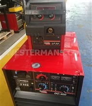 Lincoln Idealarc DC 400 Multi Process Welder + Feed Unit