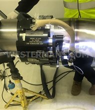AMI M15 orbital Pipe Welding Head