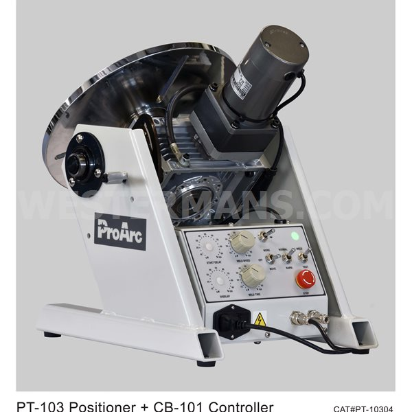 ProArc L Type with 100kg Positioner Automatic Lathe Welding System