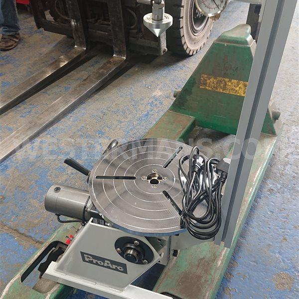 ProArc U Type, 200kg Digital Positioner Automatic Lathe Welding System
