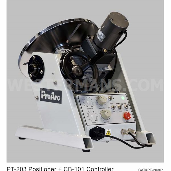 ProArc S Type with 200kg Positioner Automatic Lathe Welding System