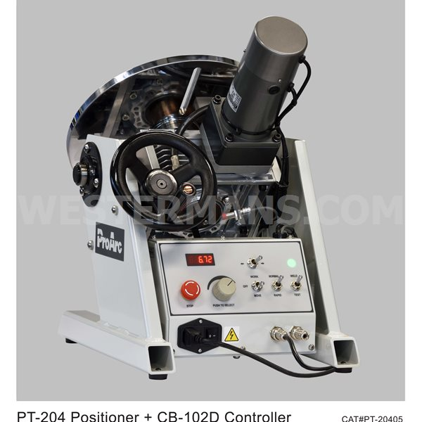ProArc R Type, 200kg Digital Positioner Automatic Lathe Welding System