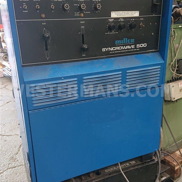 Miller  Syncrowave 500 ACDC TIG welding machine
