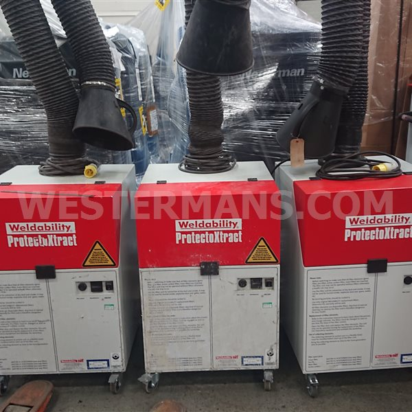 ProtectoXtract Portable, High Efficiency Extraction System ex hire