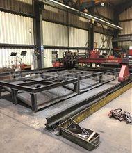Technicut TT300 CNC Gas Profile Cutting Machine with Burny 2.5 CNC