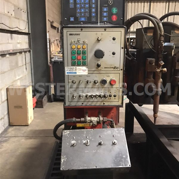 Technicut TT300 CNC Gas Profile Cutting Machine with Burny 2.5 CNC