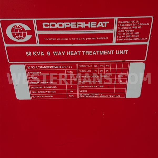 Cooperheat stork Heating Unit 6 Way looks as new