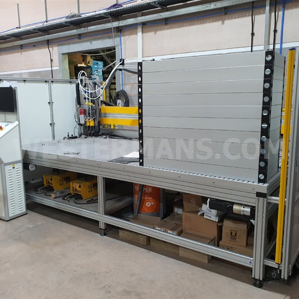 Taylor CNC stud welder with 2 x CDM9
