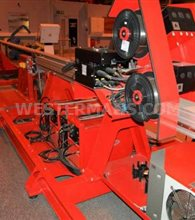 Fronius Horizontal pipe clad system with Hot Wire