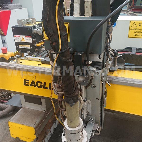 ESAB Eagle 3000 CNC plasma cutting system with plasmarc units