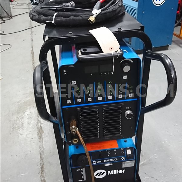 Miller Dynasty 300 DX AC DC TIG welding machine