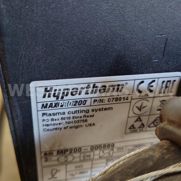 Hypertherm  MAXPRO 200 Mechanised Plasma Cutting System