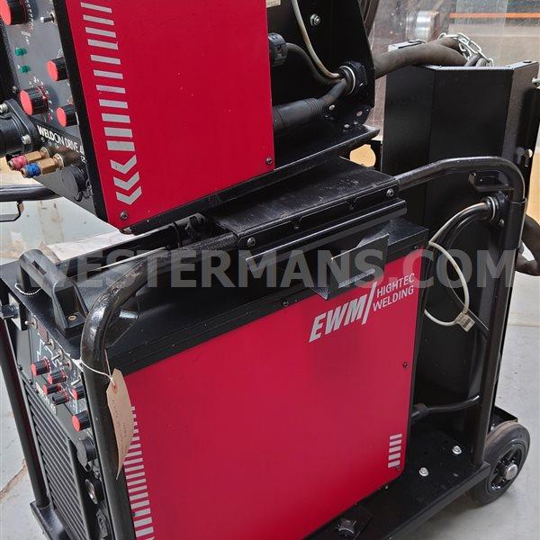 EWM Triton 400 MIG Welder with Wire Feed