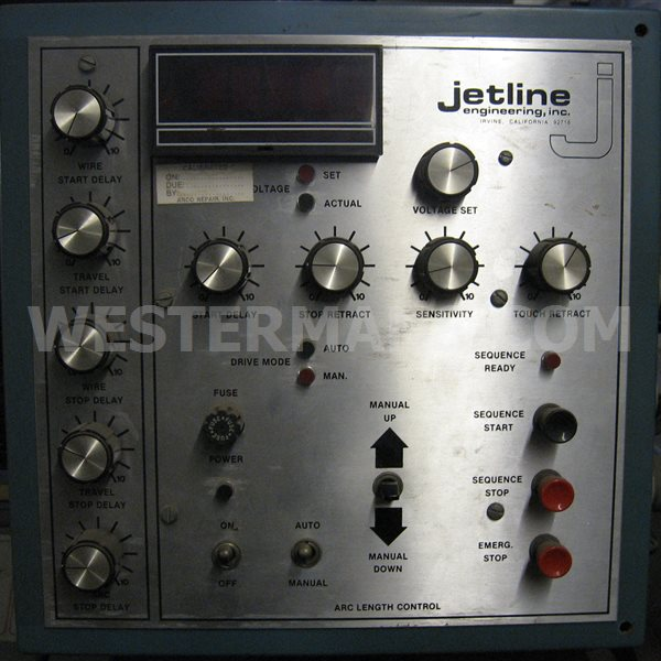 Jetline Circumferential Seam Welder , model cwp-24