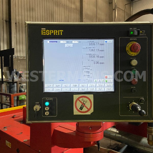 Esprit Lightning S Precision plasma option for 130 or 260 to be fitted