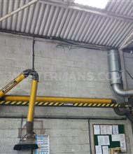 Plymovent MF-G-FM Welding fume extraction, wall mounted