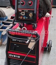 Lincoln  CV510 MIG Welder with LF35 Wire Feed & Coolarc 25