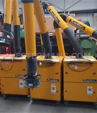 Plymovent mobile fume extraction units