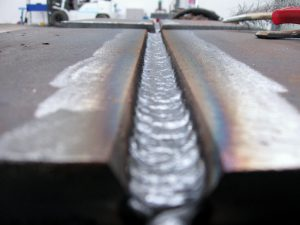 Bevelled Plate Weld Joint