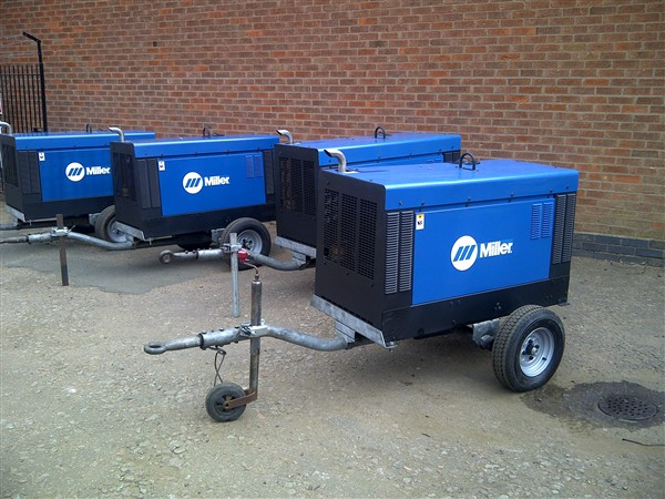 Equipment For Pipeline Welding Available From Stock
