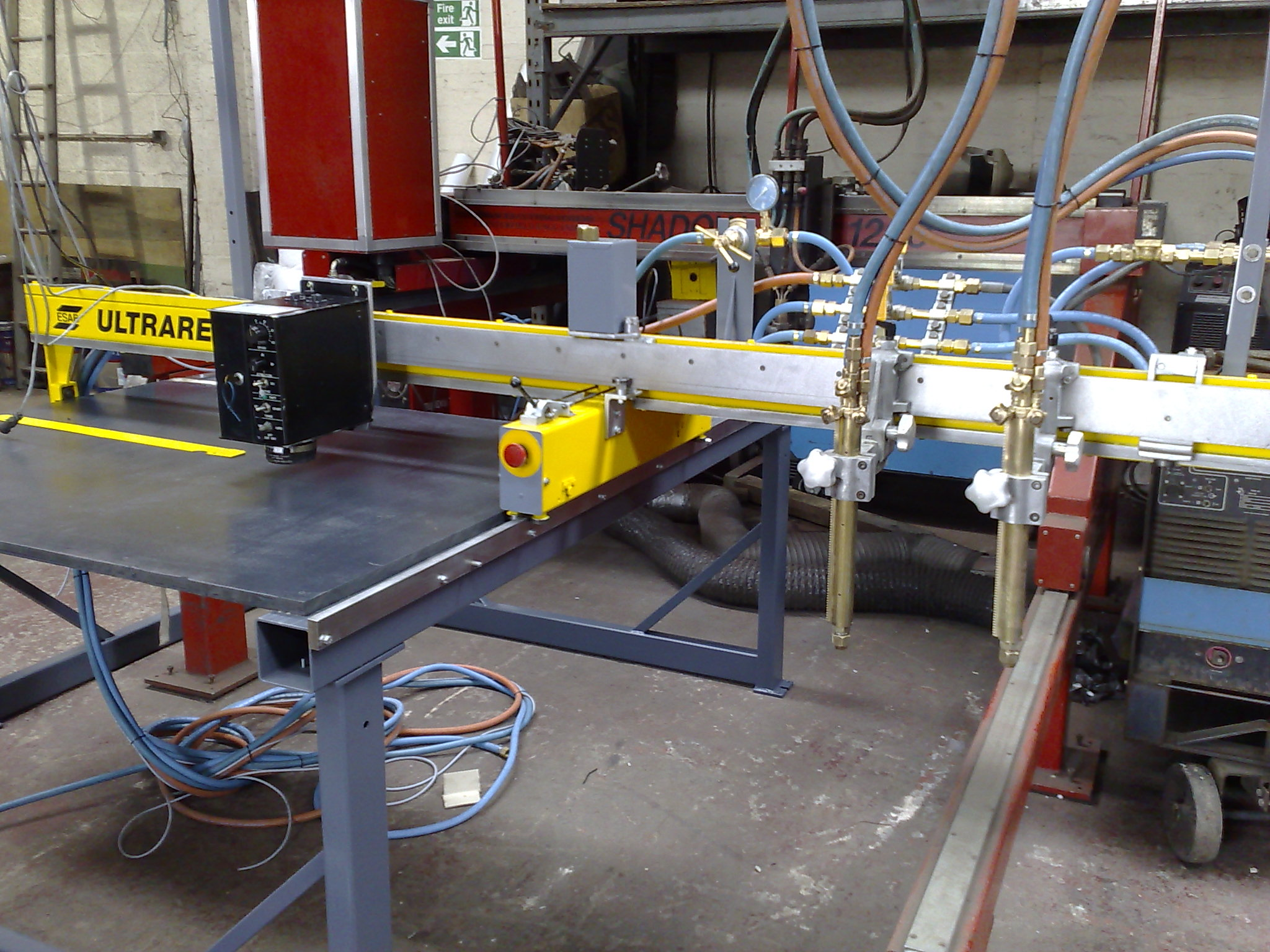 Refurbished Gas Cnc Profile Cutting Table From Westermans