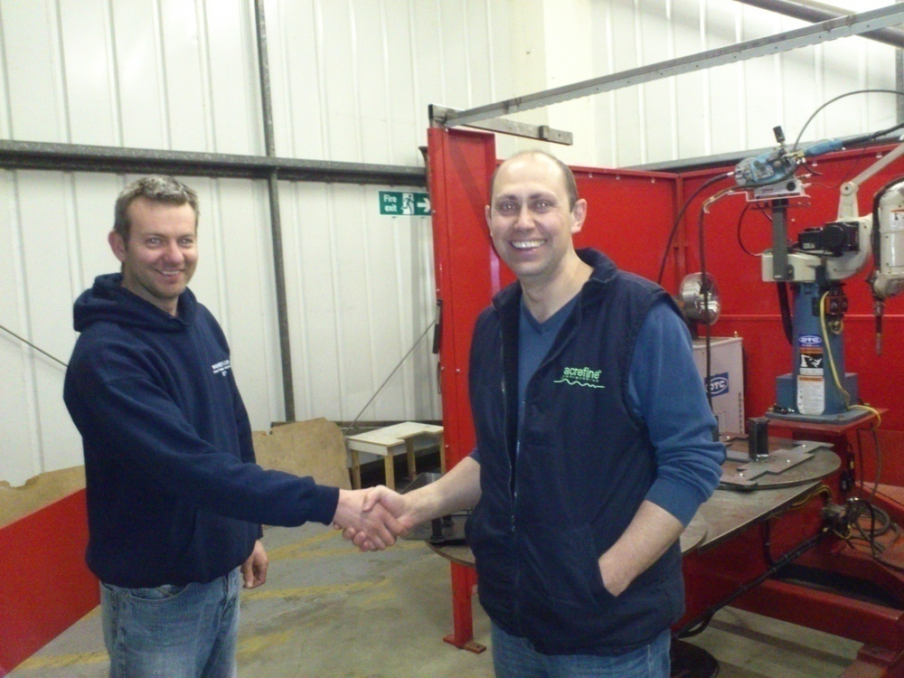 Westermans Commission OTC Welding Automation Robot at British