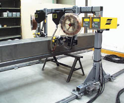 ESAB Mechtrac SAW System
