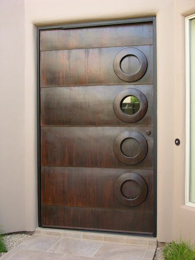 Custom made door by Kevin Caron