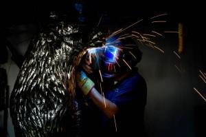 Michael Turner welding