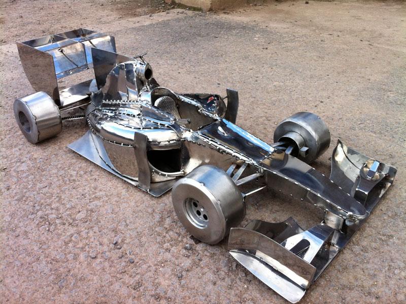 F1 Racing car Sculpture Michael Turner