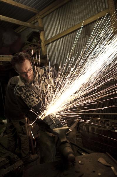 Alan Williams welding