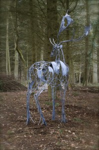 Deer Sculpture David Freedman