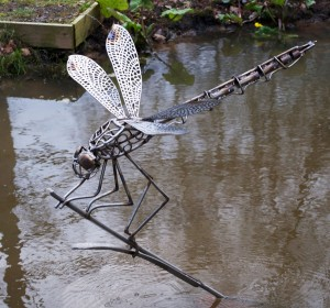 Dragonfly sculpture David Freedman