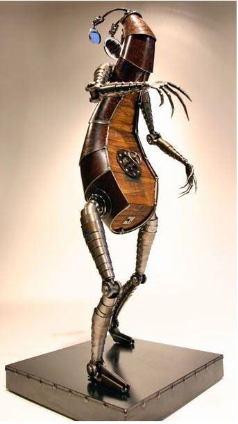 Facing Medusa Sculpture by Greg Brotherton