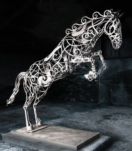 Horse Sculpture David Freedman