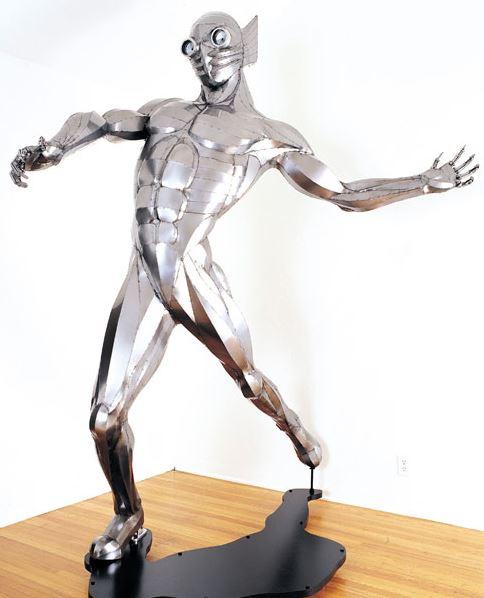 Mercury 5000 sculpture by Greg Brotherton