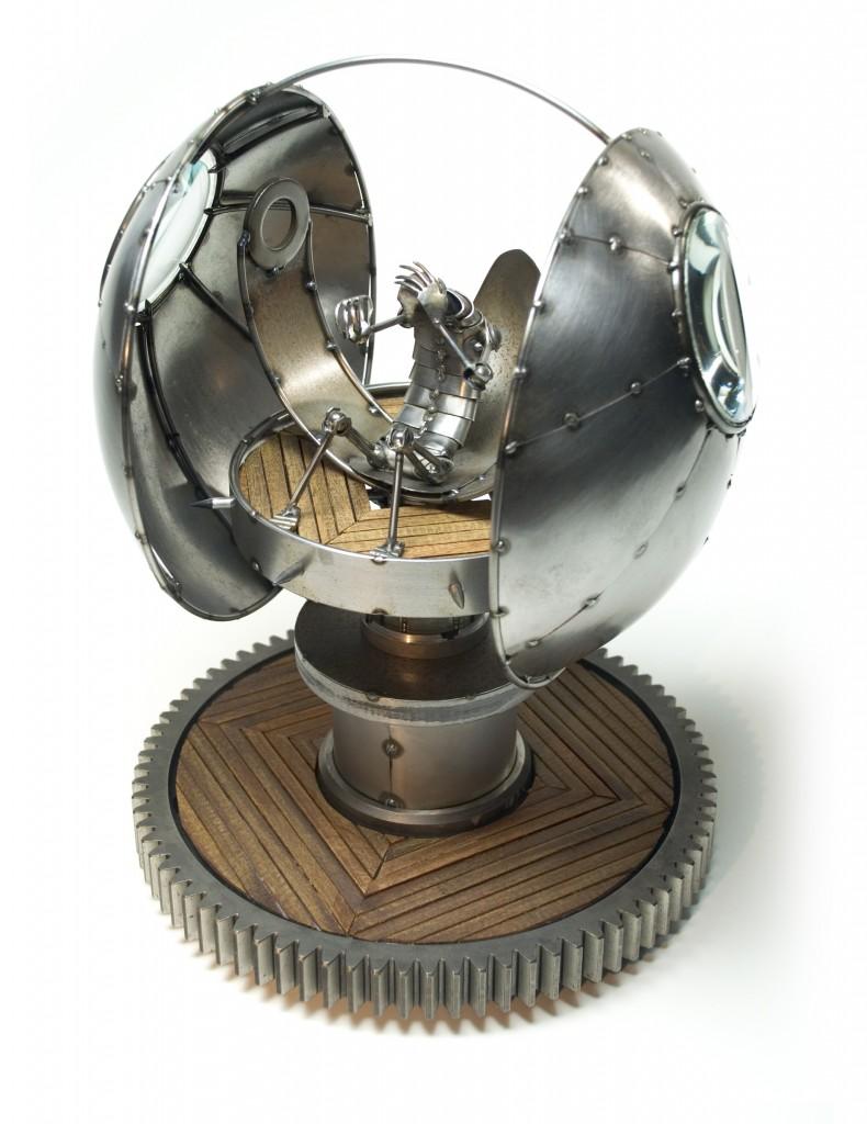 Migraine Machine Sculpture by Greg Brotherton