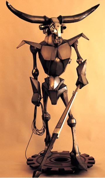 Minitron sculpture by Greg Brotherton