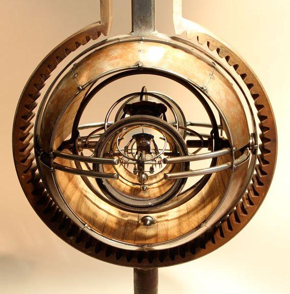 Pendulum sculpture by Greg Brotherton