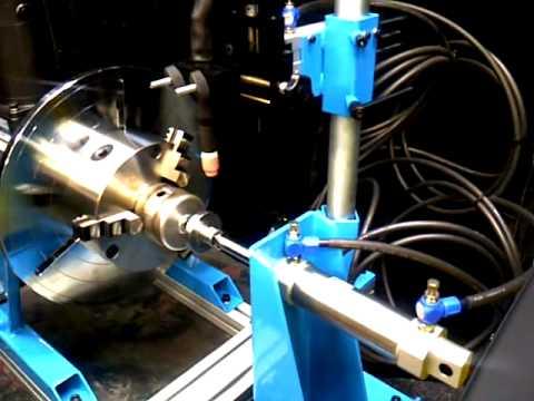 web lathe welder