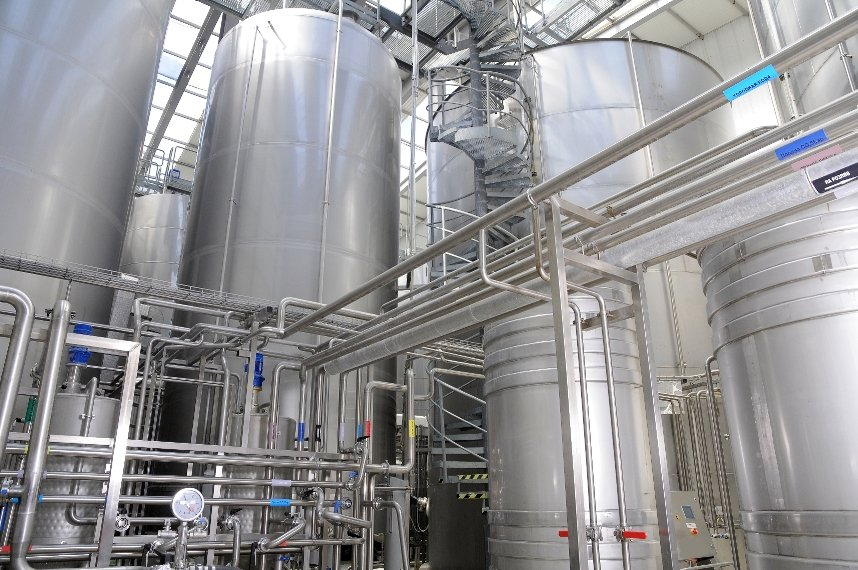Welding and hygiene in the food and beverage industry