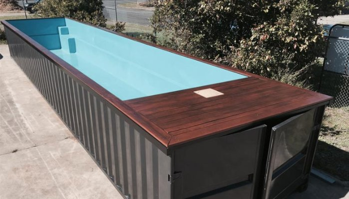 Up cycle using a plasma cutting machine westermans blog - Container swimming pool ...