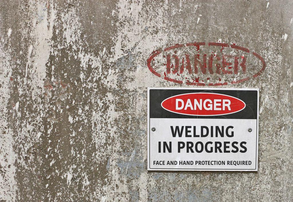 Danger Welding in Progress small