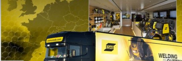 Don't miss the bus. ESAB are coming