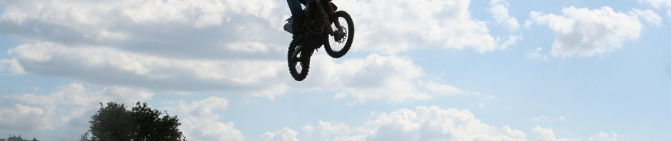 Action packed HOT day at Warmingham Lane MX