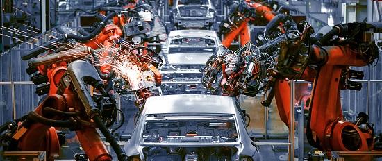 Automotive Welding Robot Production Line