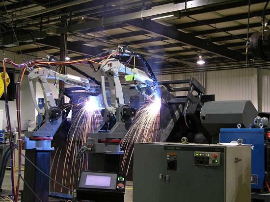 Tandem RobotWorx Robotic Welders