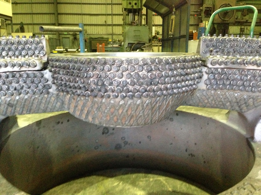 stud welding wear plate