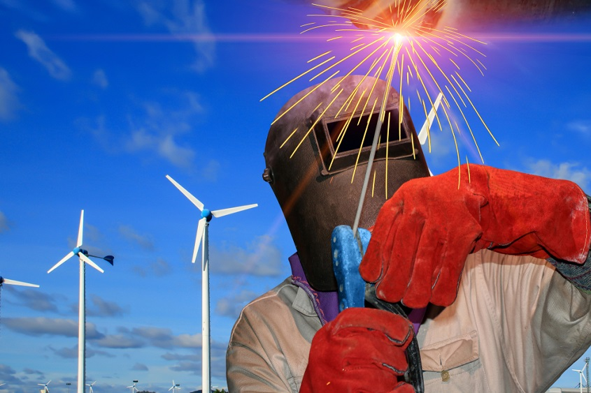 welding wind turbine