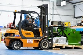 Machinery Fork Lift Driver Wanted in Leicester